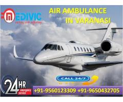 Pick Trustful Medical Care by Medivic Air Ambulance Service in Varanasi