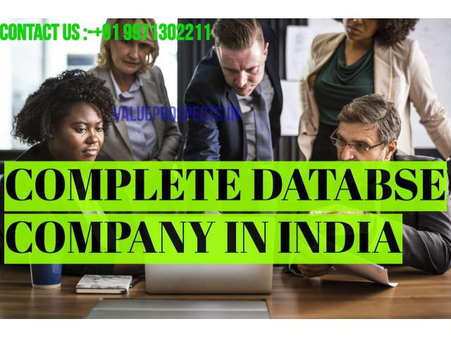 database provider companies in India