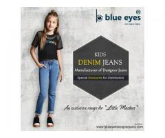 Kids Denim Jeans Wholesaler and Supplier in Delhi, India