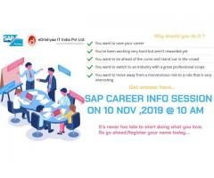 SAP CAREER INFO SESSION ON 10TH NOV 2019, SUNDAY @ COIMBATORE