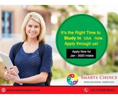 Study in USA | Best Study Abroad Education Consultancy in Hyderabad for USA