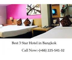 Best 3 Star Hotel in Bangkok