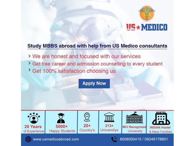 TOP MBBS Consultants For Abroad | MBBS in Abroad