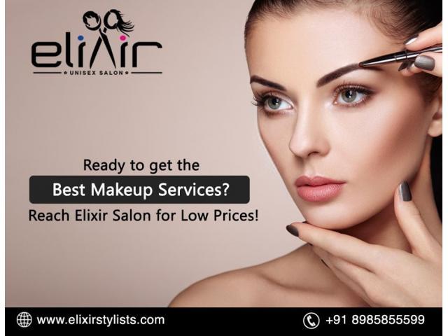 Makeup Service For Wedding With Experts | Groom Makeup | Elixir  Salon