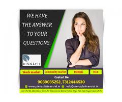 Investment advisory company, Share market tips,Pinnacle
