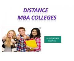 Distance MBA: Top Colleges, Fee and Courses.+91-9971123437