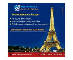 Pursue masters in European countries for free   Global Six Sigma