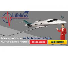 Find India's Foremost Air Ambulance in Patna Anytime at Very Cost Effective Charges