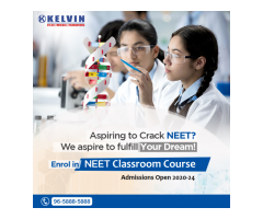 Looking Coaching Classes for NEET? Join NEET Preparation Course at Kelvin, Delhi