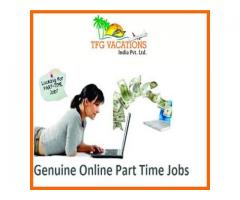 Online Part Time Home-Based Work