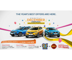 Renault December Celebrations – Get the Best Offers on Renault Cars