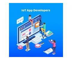 Hire our IoT app developers to improve your business processes