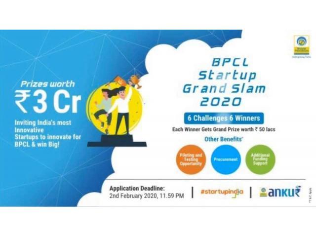 BPCL Startup Grand Challenge 2020