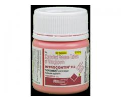 Buy Nitrocontin 2.6 mg Tablet (30 Tab) From SastaSundar @ Flat 20% Discount