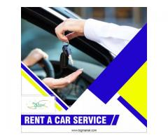 Rent-a-car services