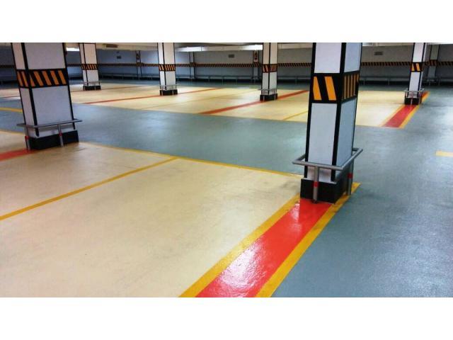 Epoxy anti slip paint for Sports, carparking &  work shops.
