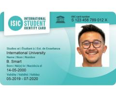 ISIC discount cards help you save more