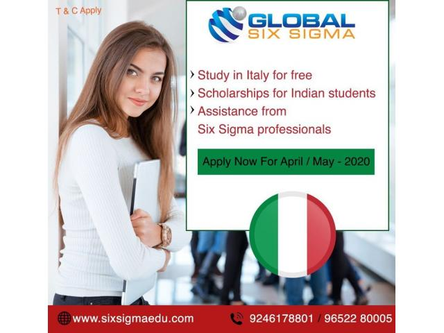 How is Italy to pursue masters for Indian students?   Global Six Sigma