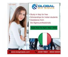 How is Italy to pursue masters for Indian students? | Global Six Sigma