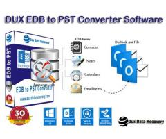 Dux Exchange  EDB to PST Recovery