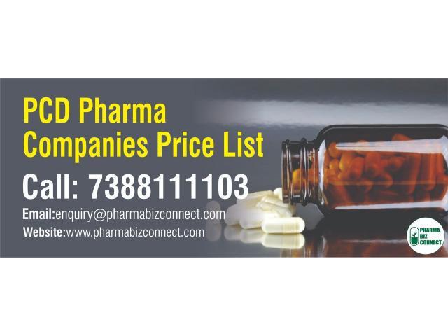Get Top PCD Pharma Companies Price List