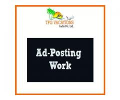 Online Part Time Work Opportunity with Tourism Company For More Details Call me