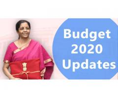 Union Budget Update 2020 - Business Startup Consultant