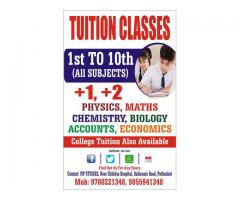 Best Science/ Math / Commerce Tuition Classes in Pathankot