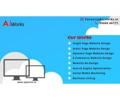 Best Webdesign and development company chennai | Ajworks
