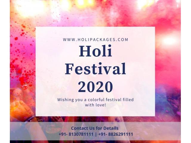 Holi Packages 2020 in Noor Mahal Karnal | Holi Party 2020