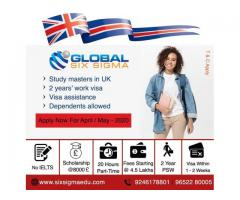 Study in UK without IELTS for Indian students | Study in UK