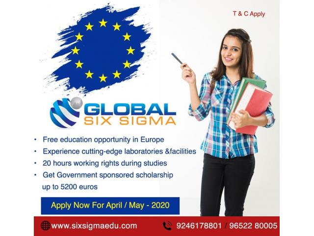 Pursue your dreams to study in top European Universities   Global Six Sigma