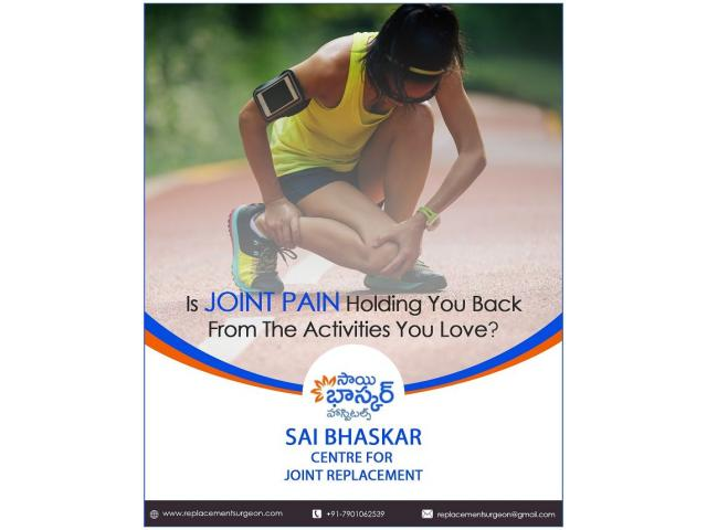 Joint Replacement Orthopaedic spine Surgeon BMR hospitals in hyderabad