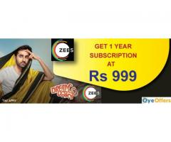 Zee5 promo code for subscription free