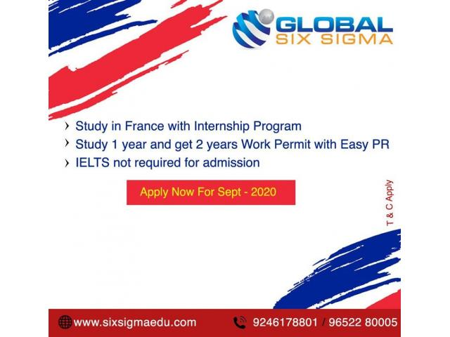 study master in france   Study in france