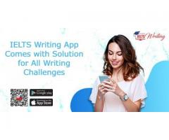 IELTS Writing App Comes with Solution for All Writing Challenges
