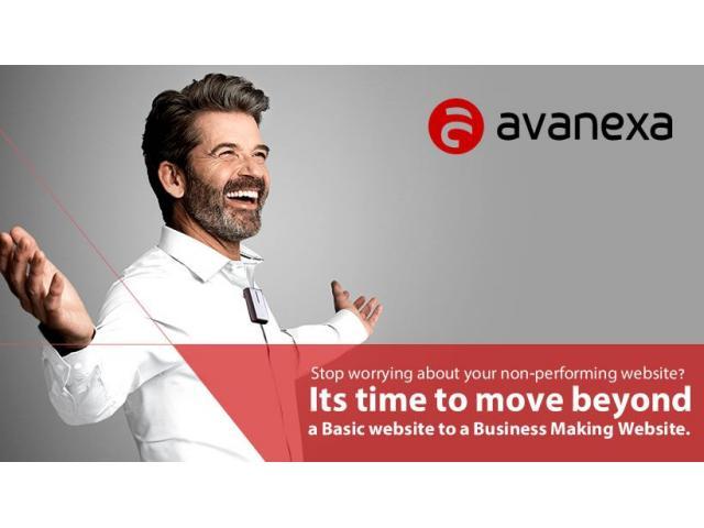 WEB DESIGN COMPANY COIMBATORE  - Avanexa Technologies
