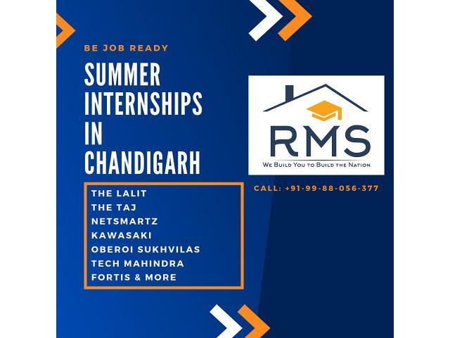 Summer Internship in Chandigarh