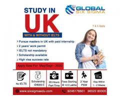 Study in UK | Study in UK for Indian Students | Global Six Sigma