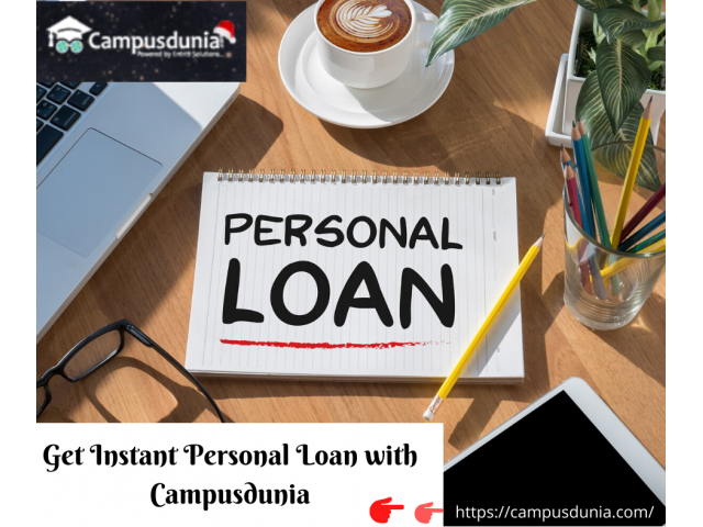 Apply for Personal Loan Online & Get Instant Money | Campusdunia