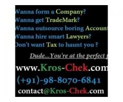 Company Registration Consultants in Bangalore - Kros Chek Consultancy Services HSR Layout