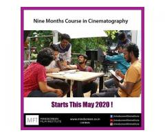 Nine Months Course in Cinematography from May 2020 Admissions Open Apply Now