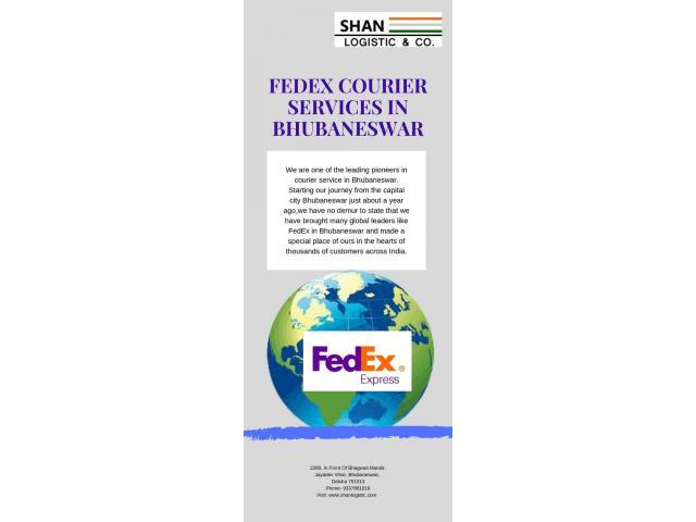 Fedex Courier Services in Bhubaneswar
