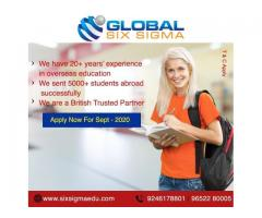 Pursue your dream masters degree in UK with ease through best consultants | Global Six Sigma