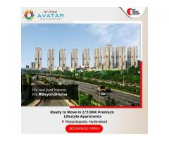 2 bhk premium apartments in puppalaguda