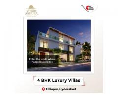 villas in tellapur