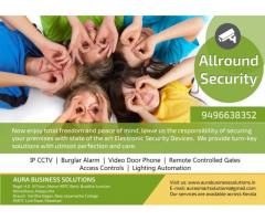 CCTV Installation Mavelikara - Chengannur - Pandalam - Parumala - Aura Business Solutions