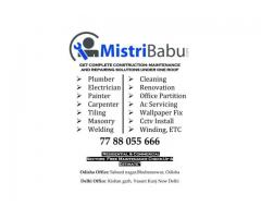 MistriBabu- Plumber in Bhubaneswar Odisha | Electrician in Bhubaneswar Odisha