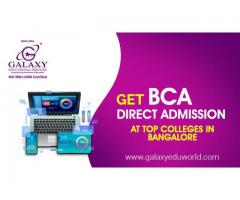 BCA Direct Admissions in Bangalore | BCA Fees in Bangalore