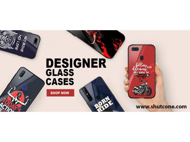 Buy Stylish & Premium Glass Mobile Cover For Your Xiaomi Smartphone at Shutcone.com